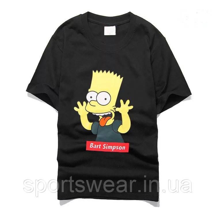 Футболка Supreme Bart Simpson   Футболка Суприм Барт Симпсон №6