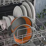 Силіконовий друшляк складаний великий 29 см, фото 6