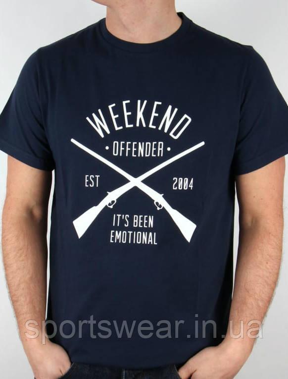 Футболка Weekend offender