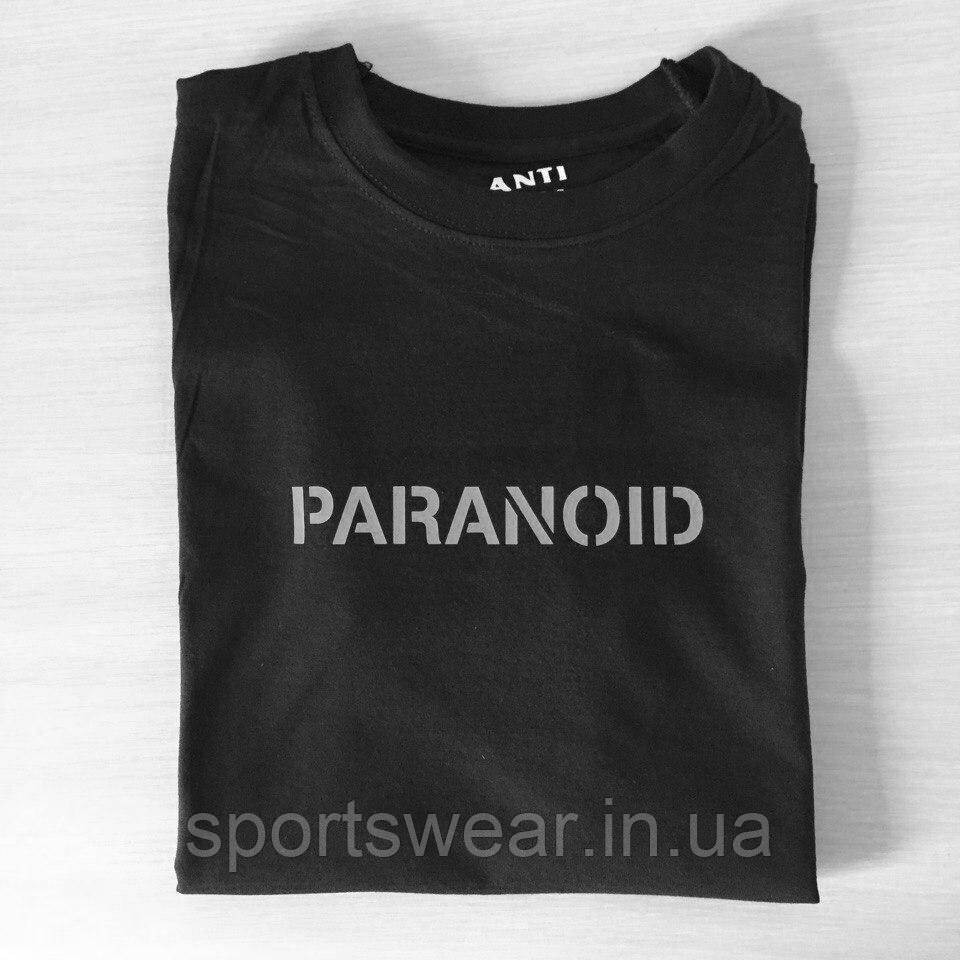 "Футболка A.S.S.C. Paranoid | Anti Social social club |Бирки | Футболка АССК """" В стиле Anti Social Social Club"