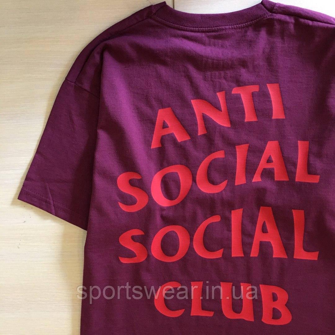 "Футболка ASSC бирка Anti Social social club Качество бомба |Бирки | Футболка АССК """" В стиле Anti Social"