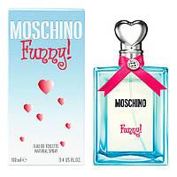 Женские духи Moschino Funny 100 ml EDP женский парфюм Москино Фанни парфюмированная туалетная вода