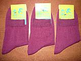 """Женские носки """"Топ-Тап"""". р. 23-25 (37-40). Хлопок. Сиреневый, фото 4"""