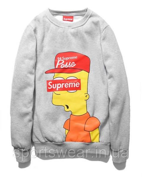 Свитшот Supreme Simpson | Свитшот Суприм мужской