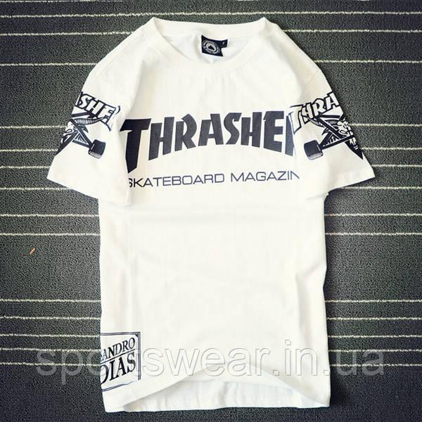 Футболка Thrasher| Трешер Футболка Swag White