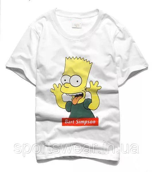 Футболка Supreme Bart Simpson | Футболка Суприм Барт Симпсон №3