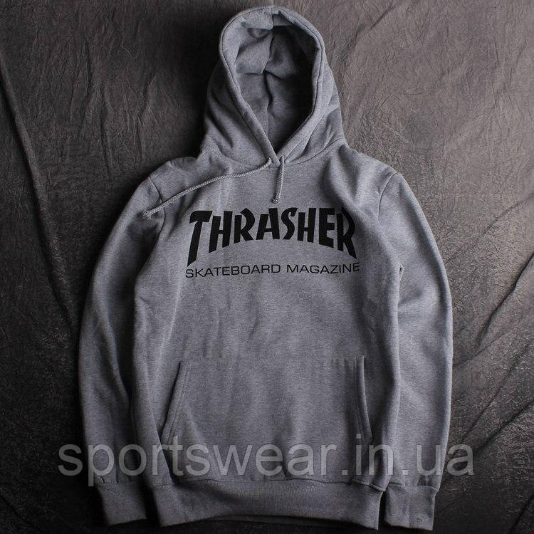Толстовка Huf Thrasher | Кенгурушка Трешер
