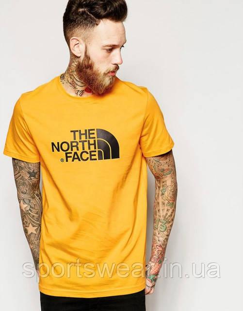 Мужская желтая Футболка The North Face