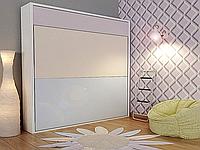 Шкаф горизонтальная 2-ярусная в спальню, фото 1