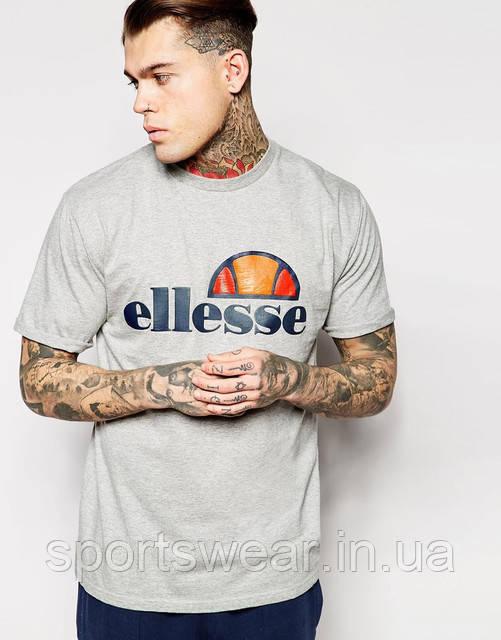 Мужская серая Футболка Ellesse