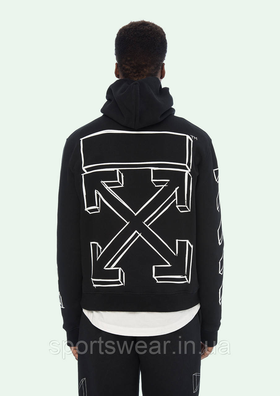Худи OFF WHITE MARKER ARROWS HOODIE