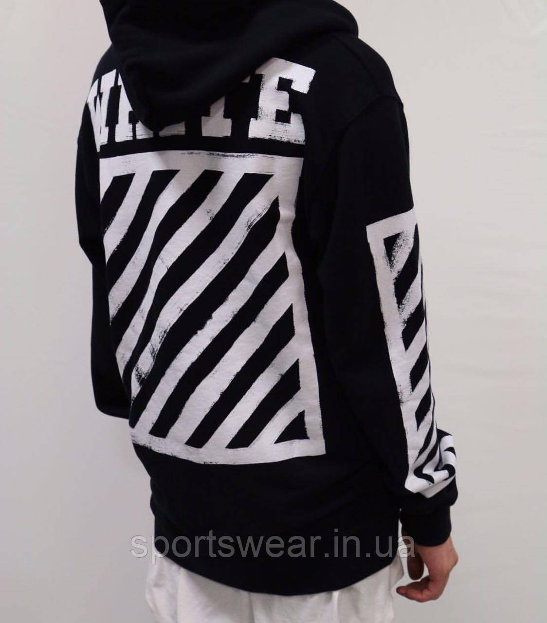 Худи OFF WHITE Black Grafiti
