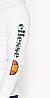 Худи Ellesse белое с логотипом, унисекс, фото 2