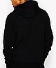 Худи Ellesse черное с лого, унисекс, фото 2