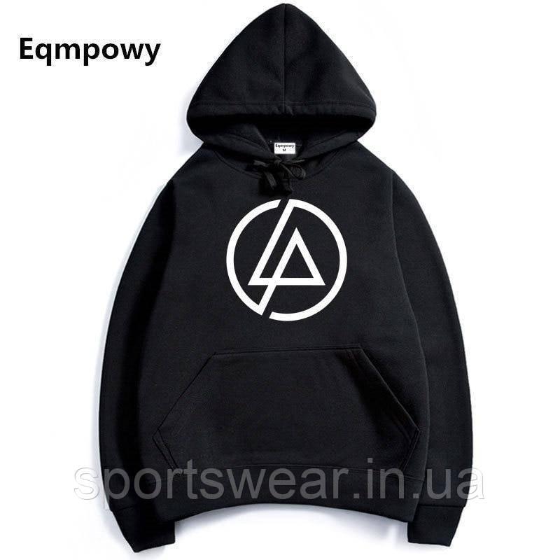 Худі Linkin Park чорне з лого, унісекс (чоловіче, жіноче, дитяче)