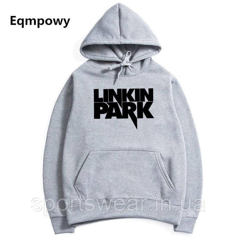 Худи Linkin Park серое, унисекс