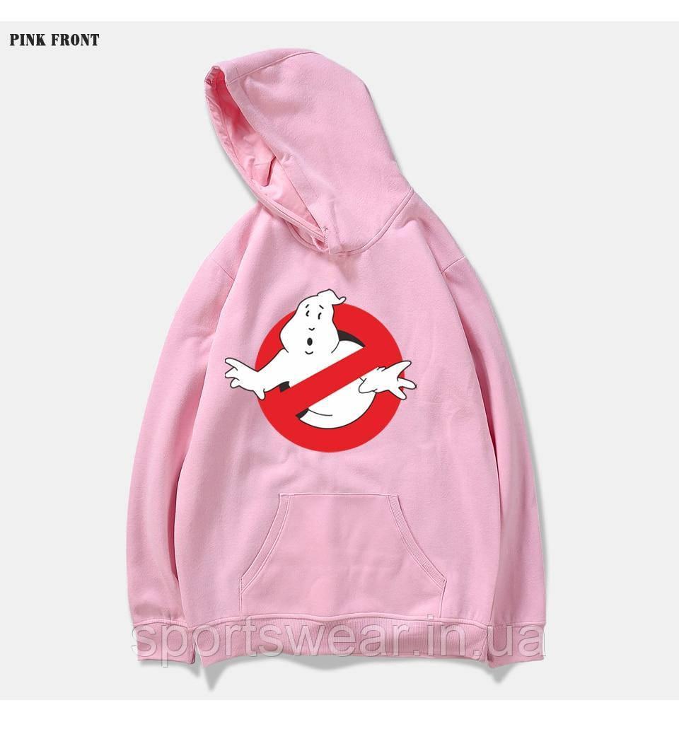 Худи Ghostbusters розовое, унисекс