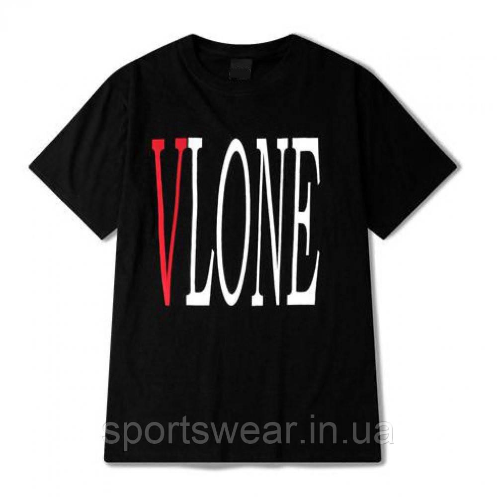 Футболка VLONE черная мужская,женская,детская