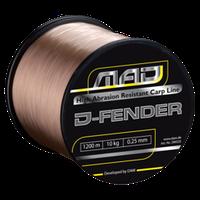 Леска DAM MAD D-Fender Carp Line  1600м 0,28мм  5,5кг (brown)