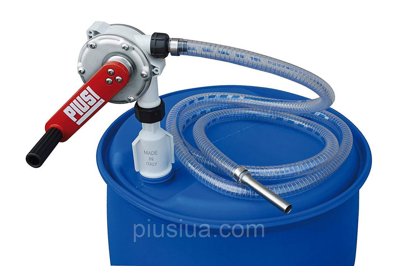 Роторный насос ручной для перекачки жидкости AdBlue PIUSI HAND PUMP