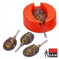 Набор кормушек DAM Sumo Method Feeder Flex Set 4+1 с формой для наполнения (2х15-20-25гр)