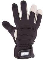 Перчатки DAM Amara Neopren с отстегными пальцами 2мм неопрен  M