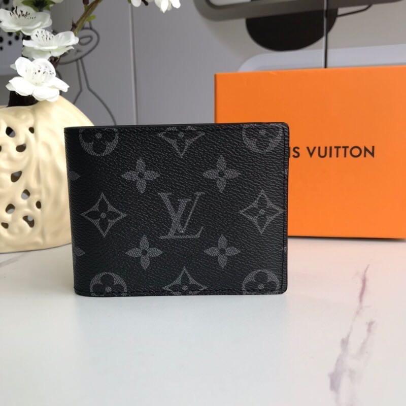 Мужской черный Бумажник Louis Vuitton