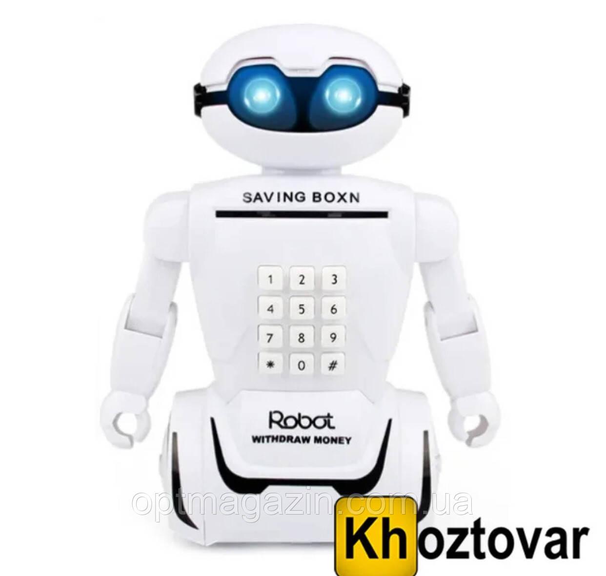 Електронна скарбничка робот з кодовим замком Robot Piggy Bank