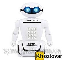 Электронная копилка робот с кодовым замком Robot Piggy Bank, фото 2