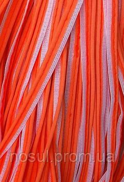 Кант светоотражающий пришивной (нашивка) тесьма (ширина 10 мм) КРАСНЫЙ ЦВЕТ (цена за 1м)