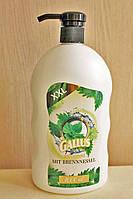 Шампунь для волос Gallus Shampoo Brennnessel 1л,(крапива)
