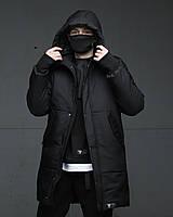 Зимняя мужская парка куртка черная Зорг (Zorg) от бренда ТУР, размеры: S, M, L, XL
