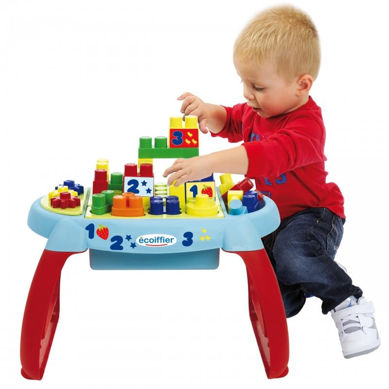 Столик с конструктором Ecoiffier 7763
