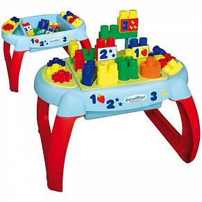 Столик с конструктором Ecoiffier 7763, фото 2