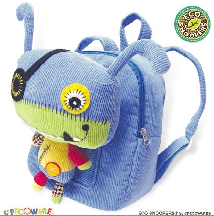 Дитячий рюкзак з талісманом Eco Snoopers