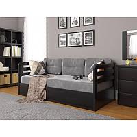 Деревянная кровать ( бук/сосна) 190х80 /200х90