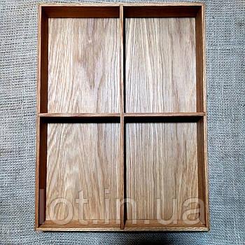 Лоток для столовых приборов от 190мм Lot 604 (индивидуальные размеры)