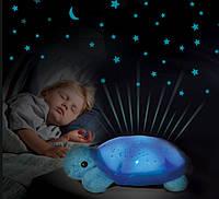 """Ночничок-проектор """"Черепашка"""" 699-4 музыкальная, фото 1"""