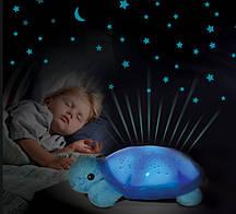 """Ночничок-проектор """"Черепашка"""" 699-4 музыкальная"""