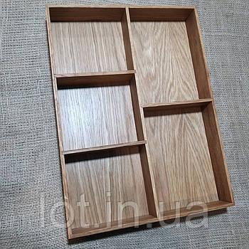 Лоток для столовых приборов от 190мм Lot 905 (индивидуальные размеры)