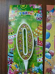 Свечи на торт в ассортименте высота 9см