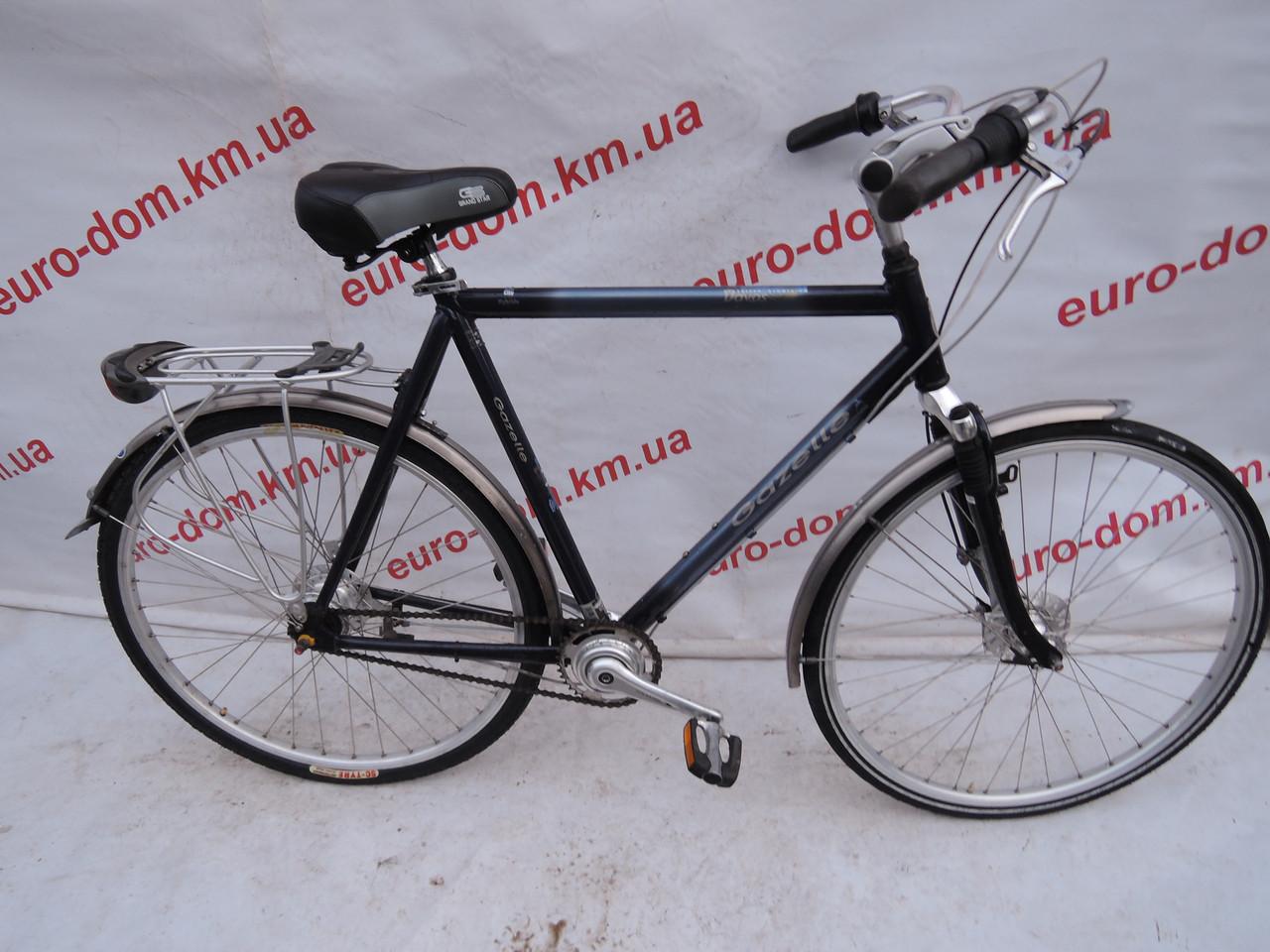 Ородской велосипед Gazellle 28 колеса 7 скоростей на планитарке