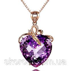Колье Purple Heart