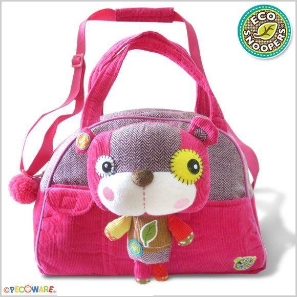 Дитяча сумочка з плюшевим ведмедиком Eco Snoopers