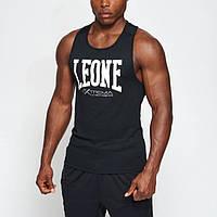 Майка спортивная мужская черная Leone Logo black размер L