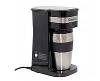 Кофеварка + термостакан Domotec 700W MS-0709   термокружка   термочашка, фото 1
