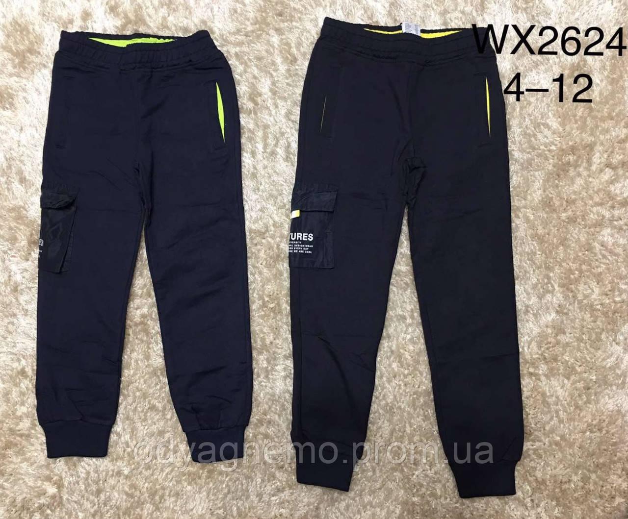 Спортивные брюки для мальчиков F&D, 4-12 лет. Артикул: WX2624