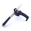 Точилка механическая для кухонных ножей Benson BN-5 черная | ножеточка в 3 этапа: от правки до идеальной