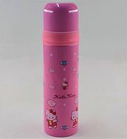 Вакуумный детский термос из нержавеющей стали BENSON BN-54 (500 мл) | термочашка Hello Kity, фото 1