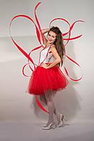 Красная юбка пачка